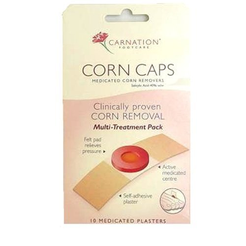 Carnation Corn Caps 10s 10