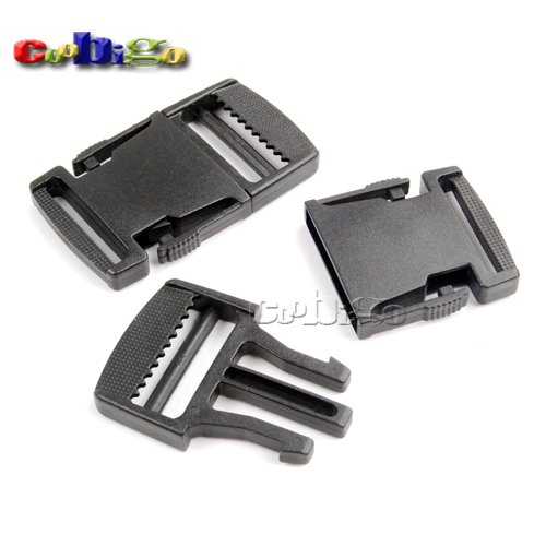 Buckes - 100pcs Pack 1-1/2'' Side Release Buckle for Outdoor Sports Bags Students Bags Luggage #FLC377-38
