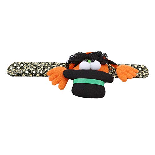 Party Diy Decorations - Halloween Patting Circle Bracelet Makeup Costume Props Kids Adult Hand Ring Gift Toy Cartoon Bat - Decorations Party Party Decorations Halloween Skeleton Dress Fancy -