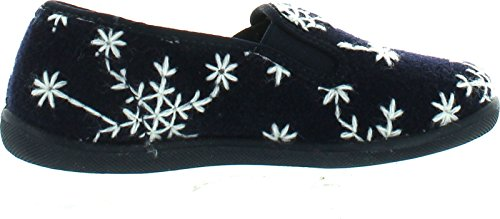 Naturino Girls 8074 Slip On Fashion Home Slippers Blue pn67muXN