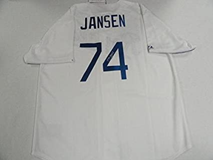 Kenley Jansen Signed  74 Los Angeles Dodgers 2017 World Series ... 35632978002