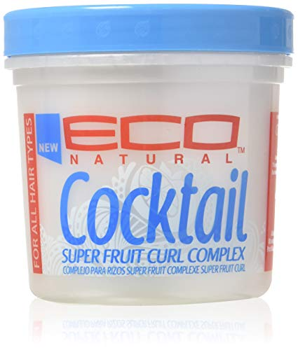 Eco Cocktail Super Fruit Curl Complex Styling Creme, 16 oz (Best Eco Styler Gel For 4a Hair)