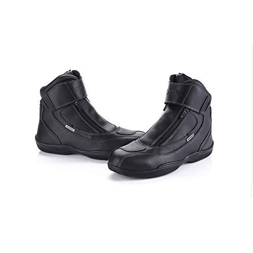 les chaussures de cuir cuir cuir noir lidmoto riding les bottes de moto - cross 9b2b24