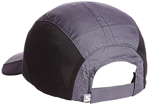 89d298d44 Salomon Unisex XT Compact Cap, Dark Cloud/Black, One Size - Buy ...