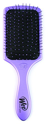 The Wet Brush Pro Select Paddle - Metallic Purple (Brush Pro Makeup)