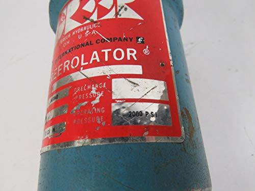 Greer 847840 Greerolator Bladder Accumulator Valve 15 Cu in 2000PSI