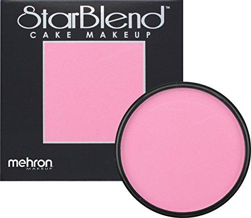 Mehron Makeup StarBlend Cake Makeup PINK – 2oz