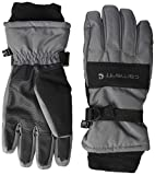 Carhartt Men's W.P. Waterproof Insulated Glove, dark grey/black, L