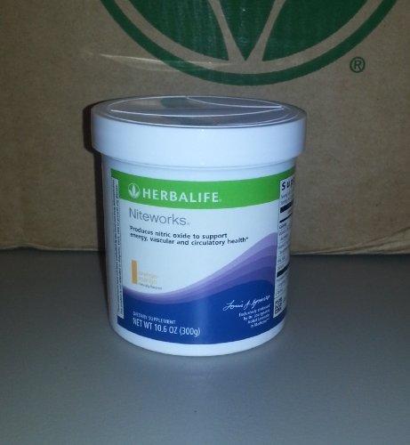 Niteworks Powder - Herbalife Niteworks Powder Mix-orange-mango 10.6 Oz Size by Herbalife