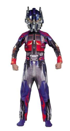 [Optimus Prime Classic Child Costume - Large] (Optimus Infant Costumes)