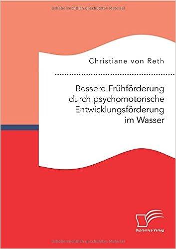 Book Bessere Frühförderung durch psychomotorische Entwicklungsförderung im Wasser