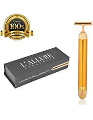 Face Massager By L'Allure Exclusive - 24k Gold Electric...