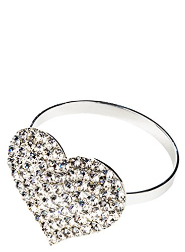 Westman Works Heart Napkin Ring Valentines Day Napkin Holder Tableware -