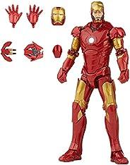 Marvel Hasbro Legends Series 6-inch Scale Action Figure Toy Iron Man Mark 3 Infinity Saga Character, Premium D