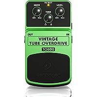 Behringer TO800 Pedal de efectos de instrumento de sobremarcha de sonido de tubo vintage