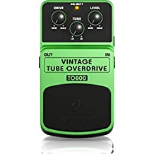 Behringer TO800 Vintage Tube-Sound Overdrive Effects Pedal