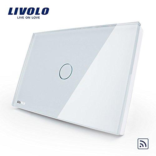 LIVOLO White US/AU Standard Wireless Remote Control Home Wal