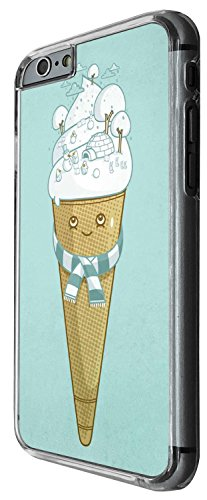 1337 - Cool Fun Trendy cute kwaii ice cream candy cartoon sketch illustration Design iphone 5C Coque Fashion Trend Case Coque Protection Cover plastique et métal - Clear