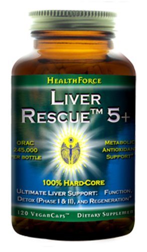 HealthForce SuperFoods Liver Rescue 120 Count