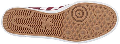 adidas Originals Men's adi-Ease, Collegiate Burgundy/White/Gum 5.5 M US by adidas Originals (Image #3)