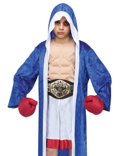 Boxer Girl Costumes (Lil' Champ Boxer Costume Small (4-6))