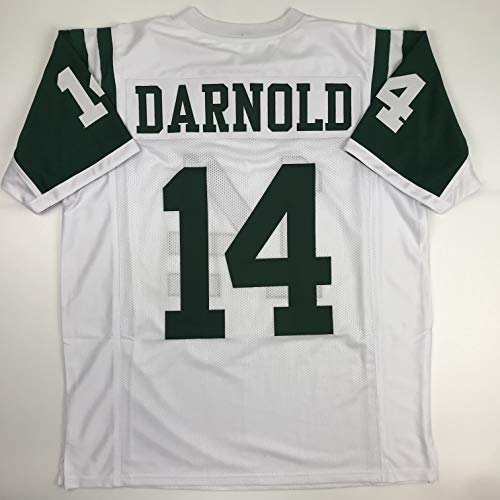 - Unsigned Sam Darnold New York White Custom Stitched Football Jersey Size XL New No Brands/Logos