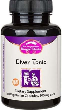 Dragon Herbs Liver Tonic - 100 Capsules - 500 mg