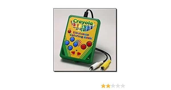 Amazon.com: Crayola My First Electronic Coloring Book: Toys & Games
