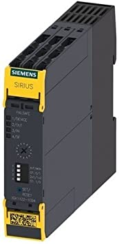 Siemens sirius - Rele seguridad salida 4na+1nc 24v corriente continua conexion tornillo