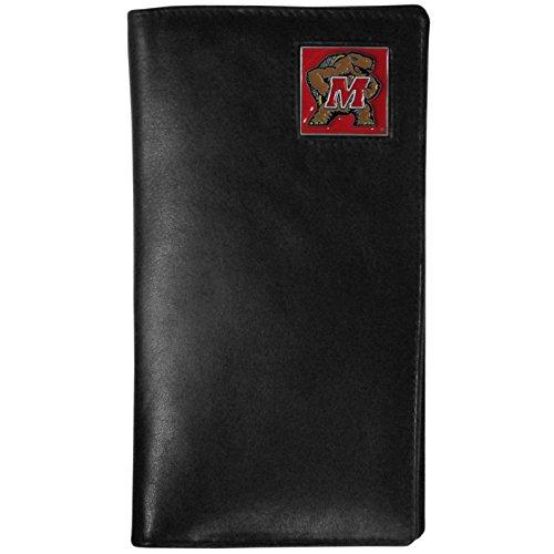- NCAA Maryland Terrapins Tall Leather Wallet