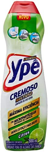 Multiuso Cremoso Ypê Premium Citrus 300Ml, Ypê