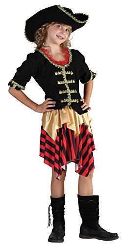 Bristol Novelty Buccaneer Sweetie Child's Costume (XL) Childs Age 9 - 11 Years -