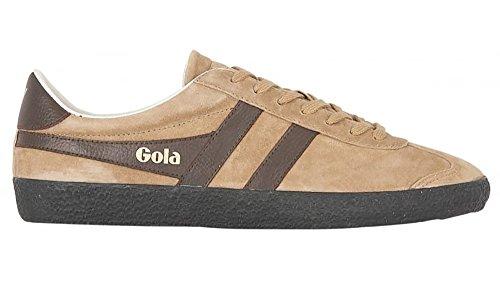 Gola Men's Specialist Casual Sneaker,Tobacco/Dark Brown Suede,US 7 M