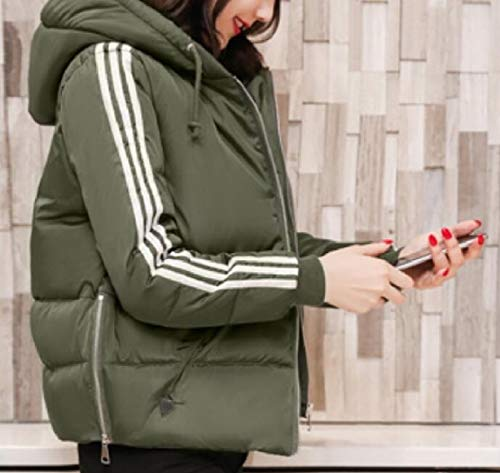 Hooded Womens Coats security Waterproof Color Jacket Solid Down Short Lightweight 1 Puffer pOOSI