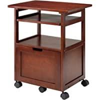 Winsome Piper Work Station, With Plenty Of Storage And Function, Walnut®
