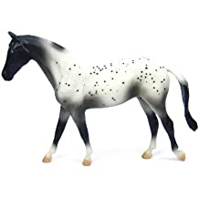 Breyer Classics Black Semi-Leopard Appaloosa Horse Toy
