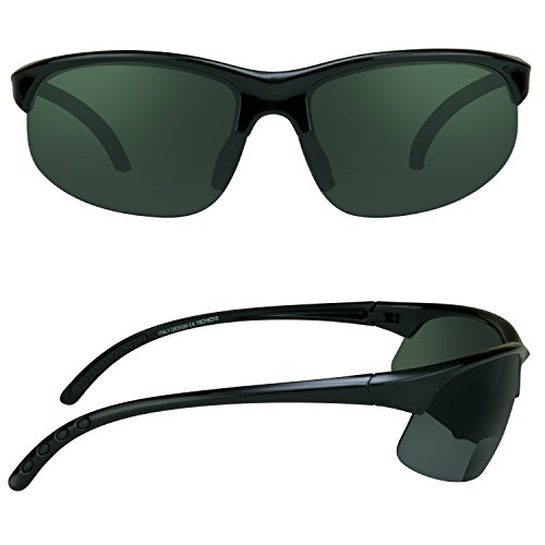 da9f582a868 proSPORT Polarized Bifocal Sunglasses for Men and Women. Anti Glare Impact  Resistant Polycarbonate Lenses