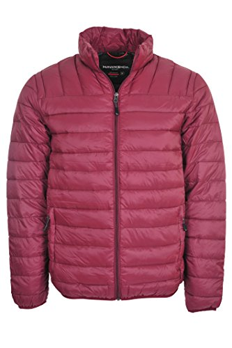 Hawke & Co Men's Packable Down Puffer Jacket II (XX-Large, Wine)