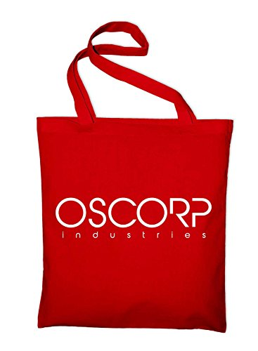 Bag Red Oscorp Logo Yellow Cotton Jute Styletex23bagoscorp8 Bag Industries yellow qqZ1wt4zx