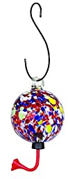 Gardman BA05712 Multi Color Sphere Glass Hummingbird Feeder, 4\