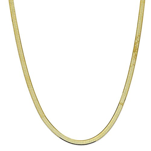 10k Yellow Gold 5.5mm Silky He