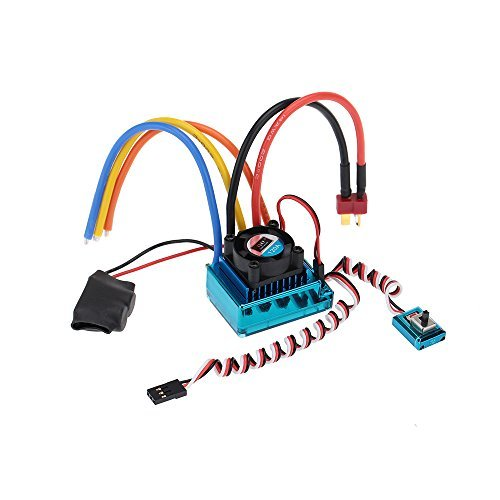 GoolRC 120A Sensored Brushless Speed Controller ESC for 1/8 1/10 1/12 Car Crawler