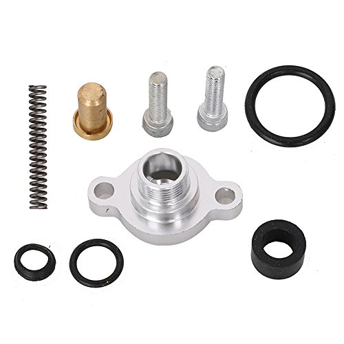 Fuel Pressure Regulator Valve Cap Spring Kit for Ford 7.3L 1999 2000 2001 2002 2003 Powerstroke Diesel