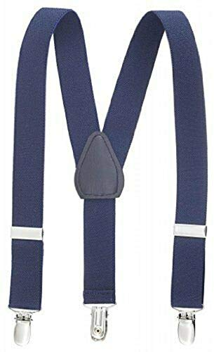 Navy Kids Toddlers Suspenders Fashion Boys Girls US Ship Free Size Tkmiss from Unknown
