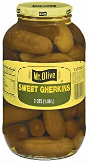 product image for Mt. Olive Sweet Gherkins - 2 qt. jar. (pack of 3) A1
