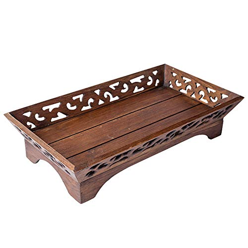 - Wooden fruit bowl home wooden crafts handmade creative retro wood carving candy dish tableware safe and environmentally friendly (452610 cm (17.710.23.9 inches))