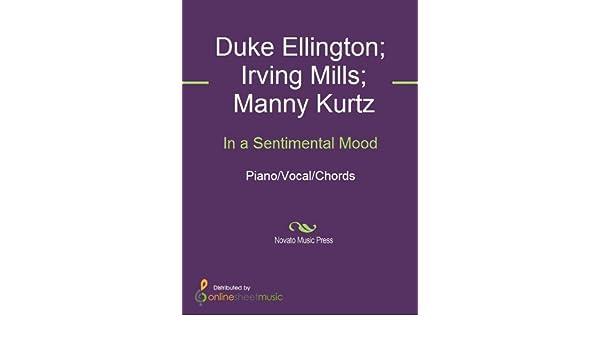 In A Sentimental Mood Kindle Edition By Duke Ellington Irving