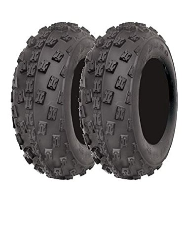 Pair Of Duro Hookup Quad Tyres 21x7x10 Radial E Marked Road Legal 6 Ply Slasher Quadmaxx