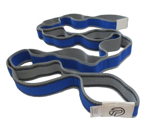 Pro-Tec Athletics Stretch Band with Grip Loop Technology, Blue