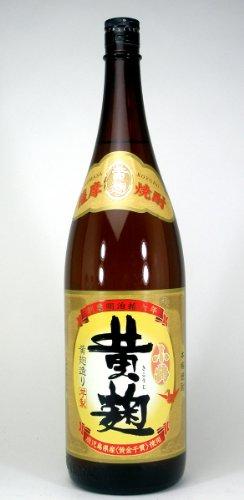 小正醸造 黄麹で仕込まれた芋焼酎 小鶴 黄麹 25度 1800ml